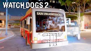 WATCH DOGS 2 - PUBLIC TRANSPORT SUCKS | Watch Dogs 2 Free Roam Gameplay