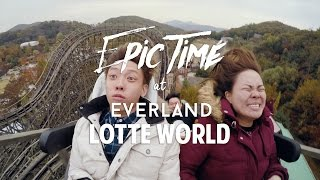 EPIC time at Everland and Lotte World Korea