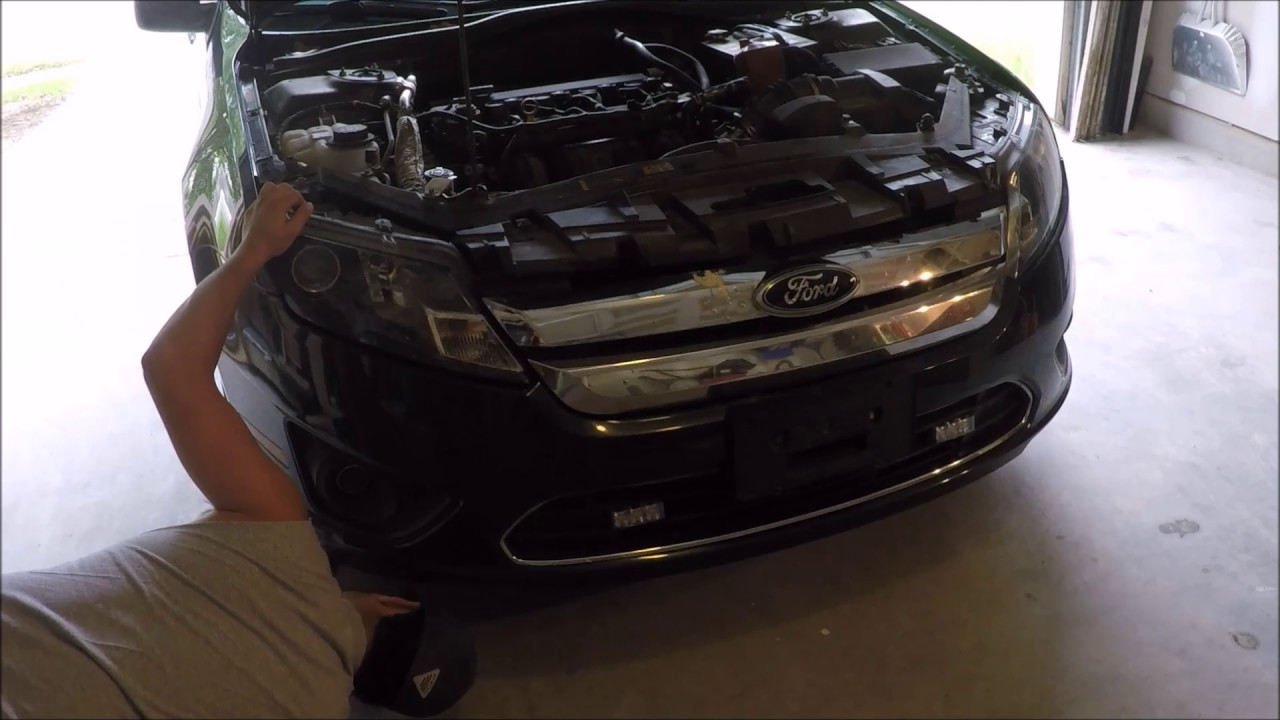 Ford Fusion 2010 E G Clics Grill Install Modified