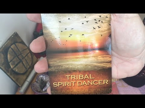 "LEO reading November 2017:  ""Tribal Spirit Dancer"" -- Step into your extraordinary self!"