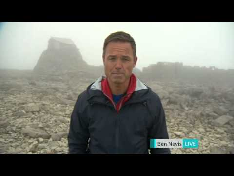 5 News' Peter Lane live from Ben Nevis summit