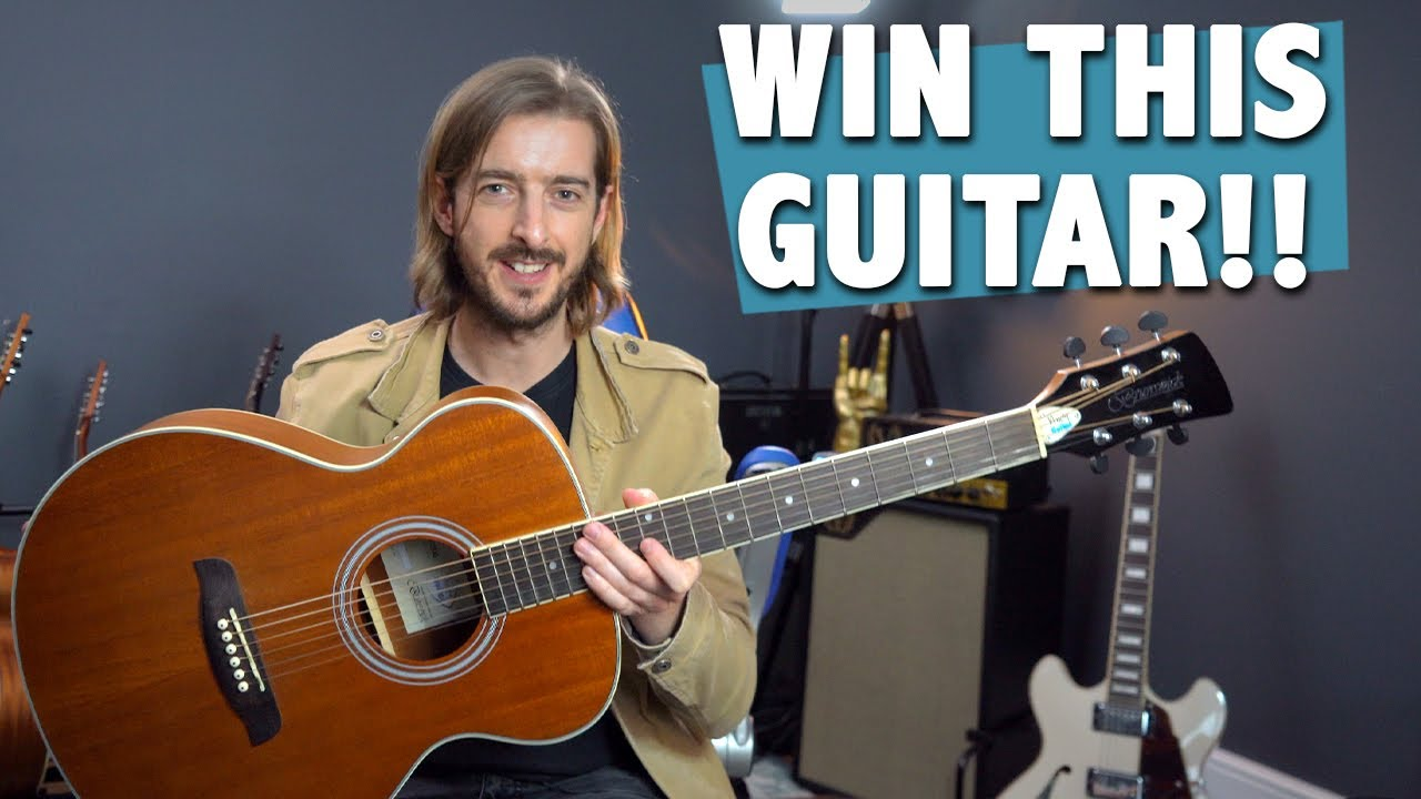 WIN MY GUITAR! - AGF200 Acoustic Guitar GIVEAWAY!