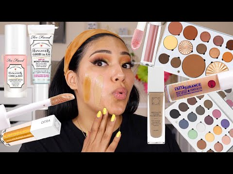 NEW MAKEUP GET READY WITH ME | OFRA COSMETICS, TOO FACED, J.CAT BEAUTY & MORE - ALEXISJAYDA thumbnail