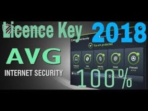 avg internet security 2018 license key free 1 year