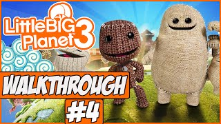 Little Big Planet 3 Walkthrough Ep.4 w/Angel - Ziggurat!