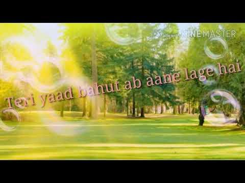Teri Yaad Bahut Ab Aane Lagi Hai WhatApp Status (Gazb Status)