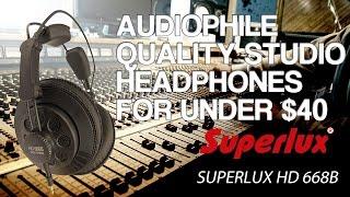 Video Best Studio Headphones Under $40 or $50 - Superlux HD 668B Review download MP3, 3GP, MP4, WEBM, AVI, FLV Juli 2018