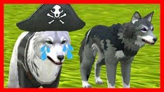 СИМУЛЯТОР ВОЛКА #8 ОХОТИМСЯ НА БОССА МЕДВЕДЯ Жизни Зверей WildCraft про котят лис собак ДЕТСКИЕ ИГРЫ
