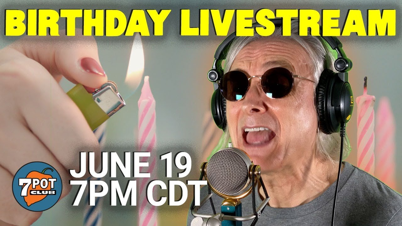 Rob's Birthday Livestream