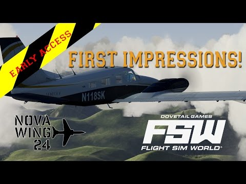 DTG Flight Sim World - Early Acess First Impressions