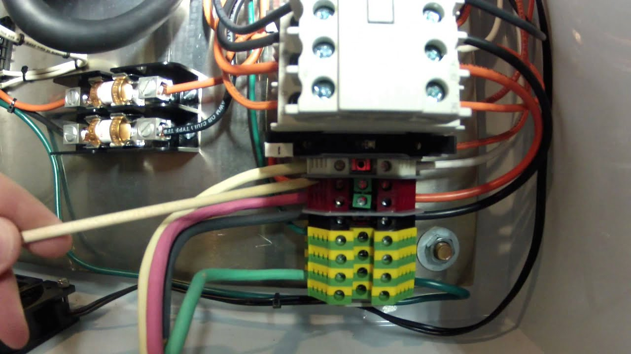vfd control box for the clausing lathe part 2 youtube rh youtube com Huanyang VFD Wiring Huanyang VFD Control Wiring Diagram