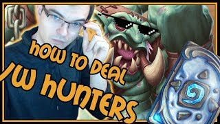 How to deal with Hunters as a Combo Priest   Rastakhan's Rumble   Hearthstone