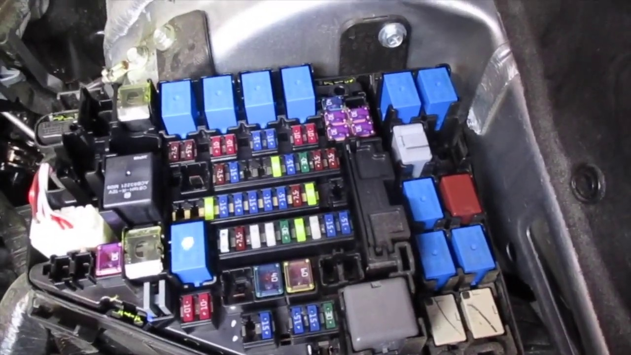 fuse box relay location subaru outback 2011 2012 2013 2014 2015 2016 2013 outback fuse box [ 1280 x 720 Pixel ]