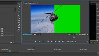 Quick Green Screen Tutorial Adobe Premiere Pro CC