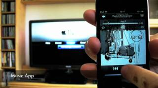 AirPlay Demo iOS 4.3 Apple TV 2G iPod touch 4G - felixba94