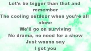 Leona Lewis-I Got You with Lyrics