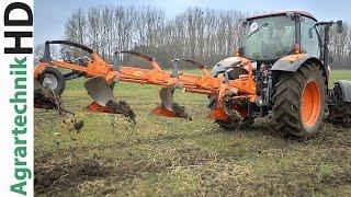 Kubota CM 1005V Plough | Kubota M135GX-II Tractor | Produktvideo