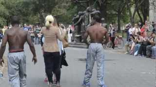 New York street dancers (experience).