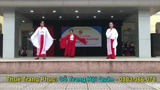 Múa Cổ Trang - Khiên Ti Hý + Song Diện Yến Tuân THPT Ngô Thì Nhậm