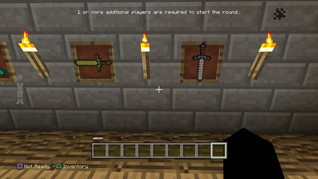 Minecraft Sword Password For The Secret Room