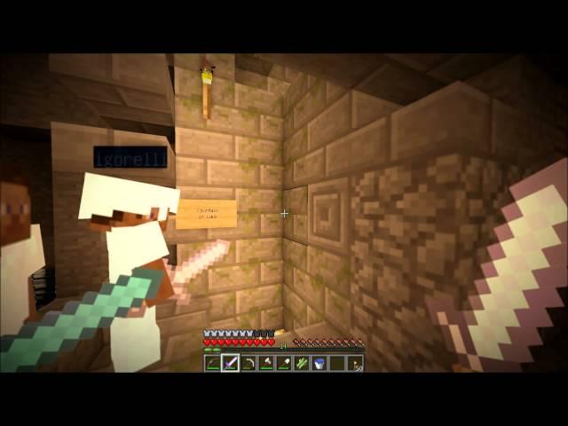"""Смотреть прохождение игры Minecraft - Серия 12: """"Слишком много мобов.."""""""