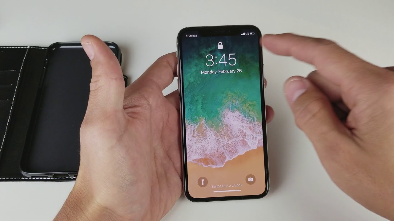 how to turn off flashlight on iphone iphone x how to turn flashlight on amp 20389