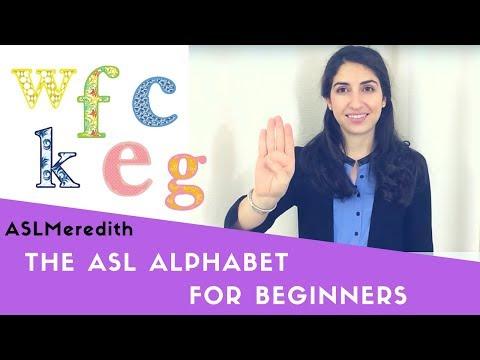 Learn ASL: The Fingerspelling Alphabet For Beginners
