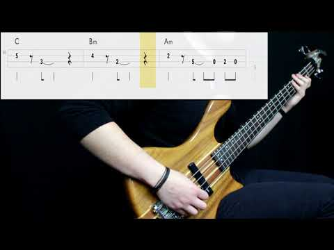 The Clash - Stay Free (Bass Cover) (Play Along Tabs In Video)