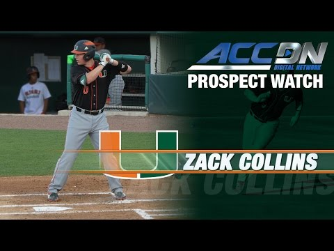 White Sox Take Miami C Zack Collins 10th IN MLB Draft
