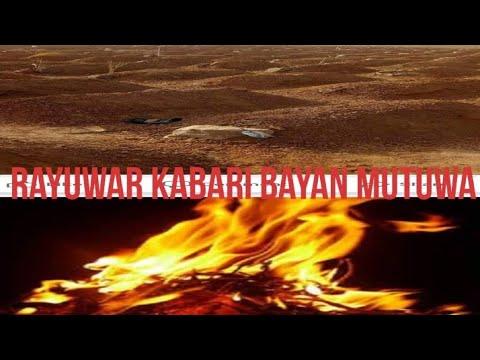 Download Rayuwar Kabari bayan Mutuwar Wacce Make Kira Barzahu