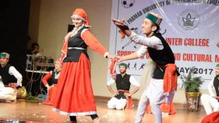 Himachali naati folk Nauni university cultural fest 2017-4may