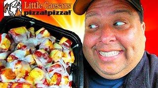 Little Caesars CINNAMON LOADED CRAZY BITES™ Review!