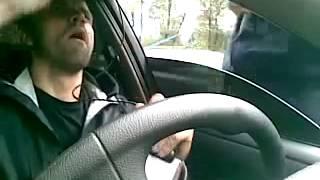 СМОТРИ!! КАПЕЦ! а я что не похож на водителя