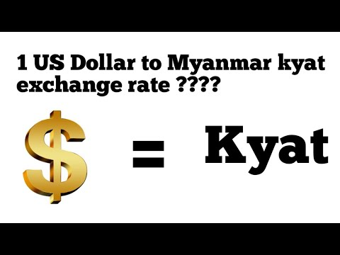Kyat To Usd Mmk Dollar