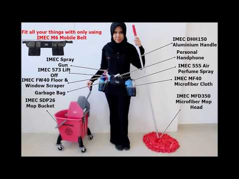 IMEC M6 Tool Belt - Accessory Tool Pouch for Convenience Cleaning in Malaysia