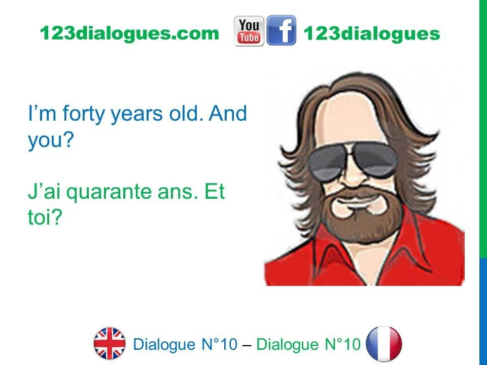how to ask how old are you in french