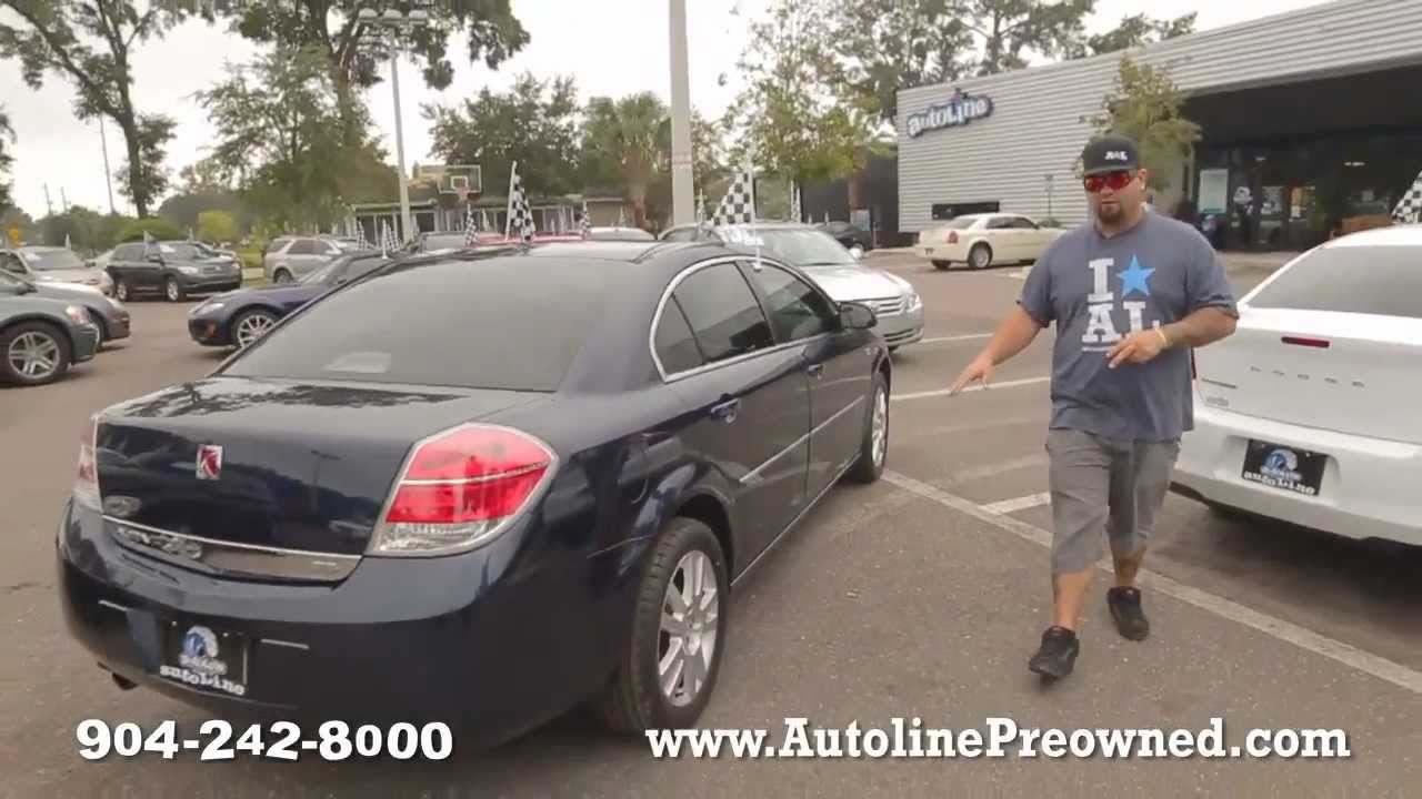 Saturn Aura Review >> Autoline S 2008 Saturn Aura Xe Walk Around Review Test Drive Youtube