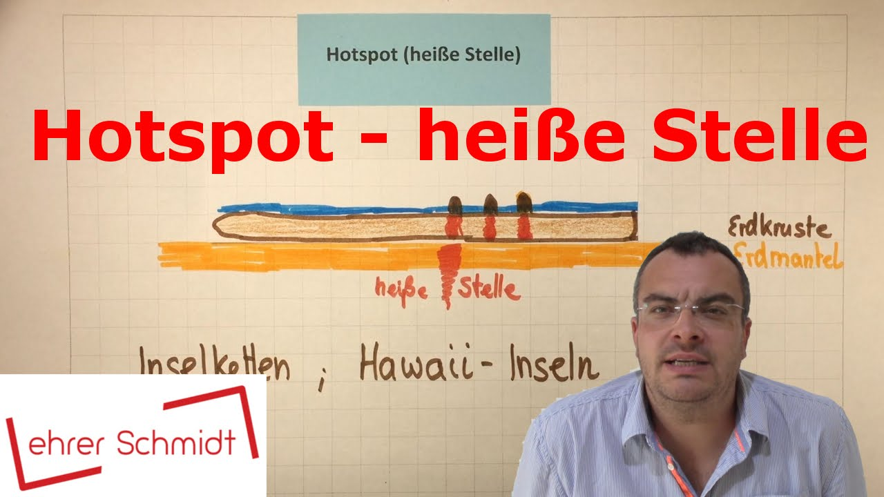 Hot Spot - heiße Stelle | Erdkunde | Plattentektonik | Lehrerschmidt