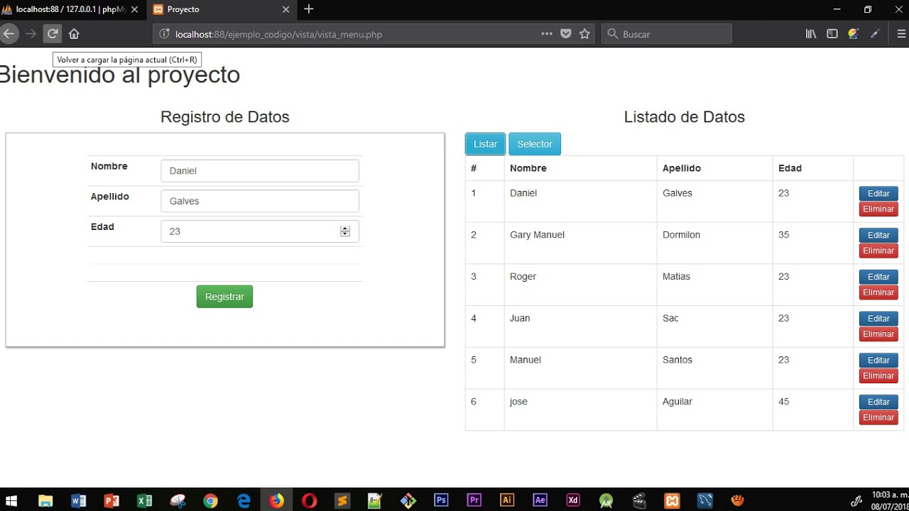 Select Dinamico con html, php, js y mysql - YouTube