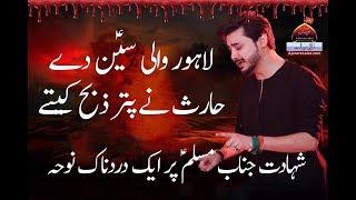 Noha - Lahore Wali Sein De Haris Ne Puter Zeba Kite - Ali Hamza - 2017