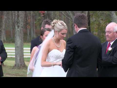 Mary & Justin Draper Wedding 10/24/15 (Highlight)