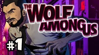 WOLF VS WOODSMAN - The Wolf Among Us Episode 1 FAITH Walkthrough Ep.1