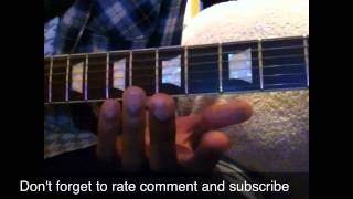 How to play Nickelback Animals guitar lesson