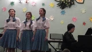 Трио песня из кф Девчата