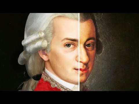 how MOZART looked in REAL LIFE