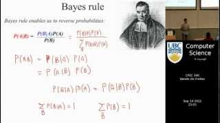 undergraduate machine learning 5: Introduction to Bayes