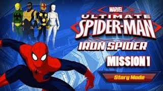 Ultimate Spider-man: Iron Spider  Mission 1 Gameplay  Doc Ock