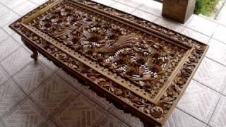 Balinese Furniture (HD/high definition video)