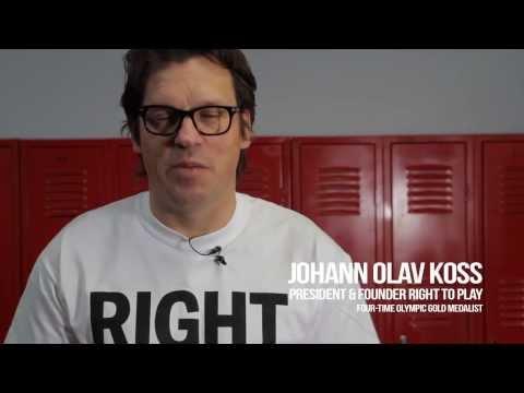 Right To Play USA - Johann Koss Indiegogo Update