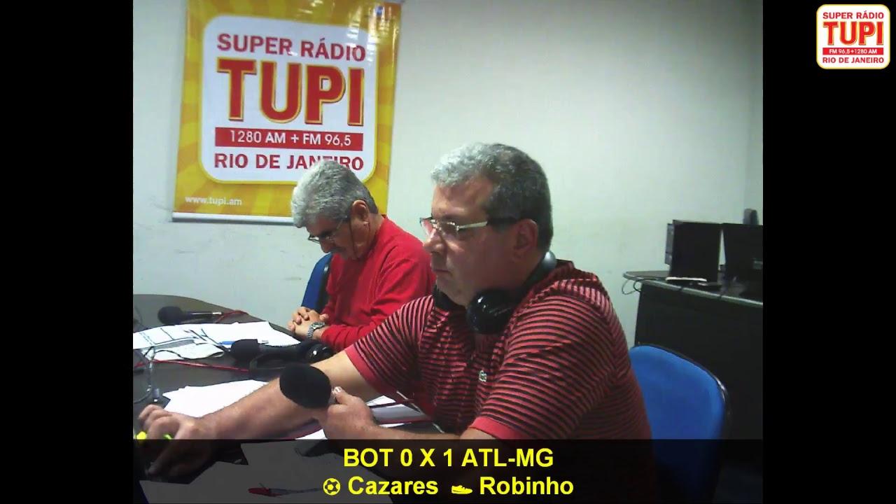 Resultado de imagem para AO VIVO - Vasco 2 X 1 Atletico MG - Super Rádio Tupi